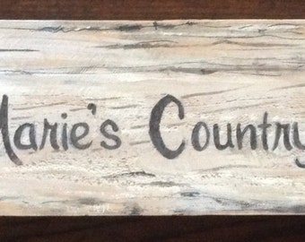 Rustic Custom Signs