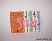 SMILE Blank Card