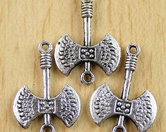 10pcs 24x16mm Tibetan Silver Ax Findings H0016