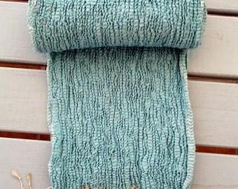 silkscarf  Chal Scarf wool silk