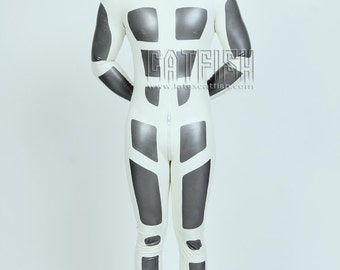 Best Man Gift / Body Armour Catsuit  /  Sexy Cool&Tight Man Latex Clothing,Latex Catsuit