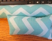 Turquoise Chevron Wrist Rest , Keyboard and Mouse Wrist Rest