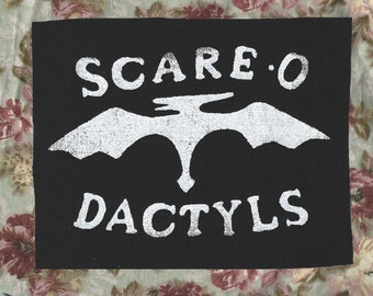 Gravity Falls-Inspired Scare-O-Dactyls Patch