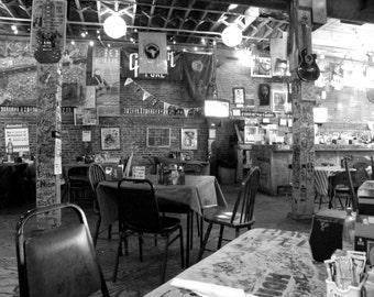 Inside Ground Zero, Fine Art Photography, Interior Photography, Music Inspired Photography, Black and White Photography