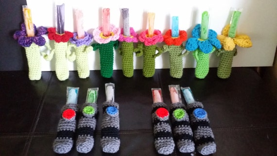 Items similar to Ice Pop Holders - variety of styles!! on Etsy