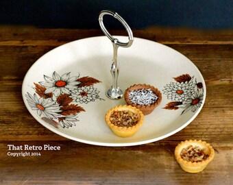 Johnson of Australia 'Russet' cake serving platter (c. 1975-83)