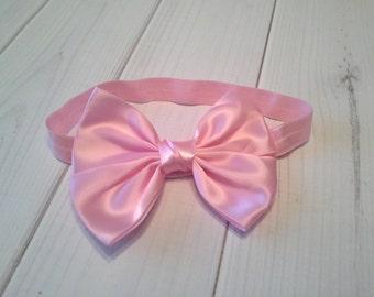baby headband, baby girl headband, vintage headband, wedding headband, bow headband, white  headband,  triple flower headband