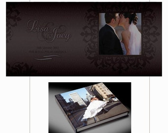 Photo Album Design Custom Wedding Flush Mount