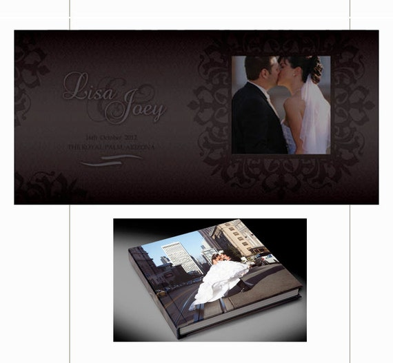 Photo Album Design Custom Wedding Album  Wedding Album Design  Flush Mount Wedding Album  Wedding Photo Album  Personalized Photo Album