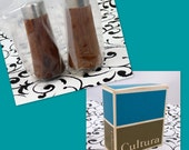 Vintage Cultura of Sweden Salt and Pepper Shakers, Walnut and Stainless Steel - New in Box