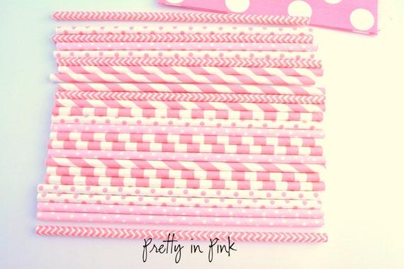 Pretty Decorative Paper Decorative Paper Straws