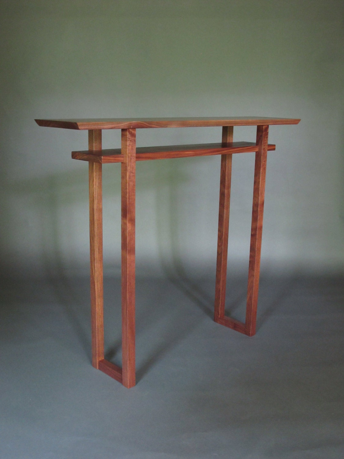 Tall narrow console table small entry hall table thin hall for Tall console table