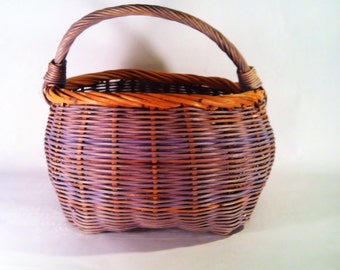 Hand dyed Woven Basket
