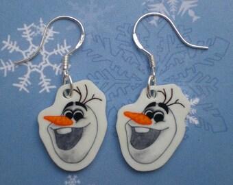 Frozen Olaf Earrings