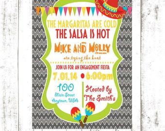 Fiesta Themed Invitation
