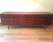 Danish IB Kofod Larsen FA66 Faarup Credenza/Sideboard in Rare Brazilian Rosewood