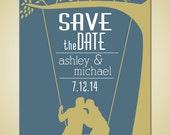 Printable Wedding Save the Date - Tree Swing