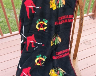 Chicago Blackhawks Fleece Blanket