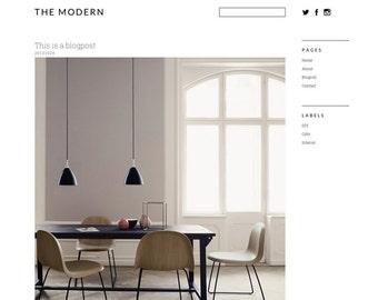 Wordpress template 'The Modern'