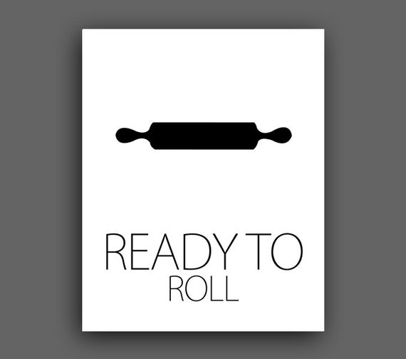 Items Similar To Modern Kitchen Ready To Roll Printable