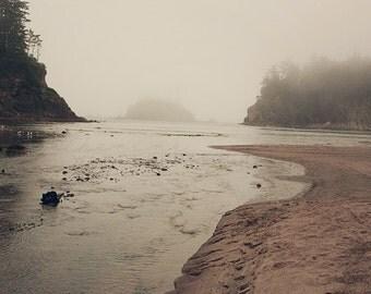 Dusk on Oregon Coast II - Photographic print - wanderlust, PNW,  pacific, ocean, clean, rocky,  rural, square, 12 x 12, 16 x 16, 20 x 20