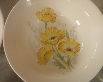 Noritake Buttercup Craftone 8769 Set of 8 Cereal Bowls
