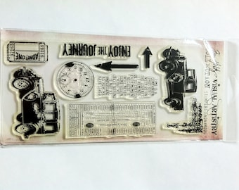 Tim Holtz Clear Stamp - The Journey CSS25900 ** ON SALE **