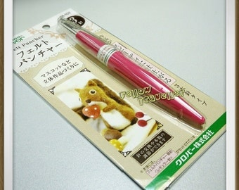 Made in Japan - Clover Needle Felting Tool - holds 3 needles (Ready to ship)