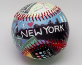 New York City Baseball, Souvenir Gift baseball, Baseball Fan, Baseball Lover