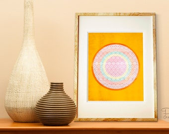 Poster Print 8x0 or 11x14 - The Sun - For Your Home Decor