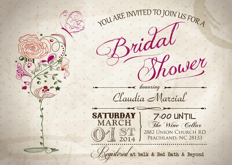 Vintage Tea Party Wedding Invitations: Vintage High Tea Party Bridal Shower Or Birthday Printable