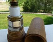 Spark Plug Saleman's Display Sample in Wood Case