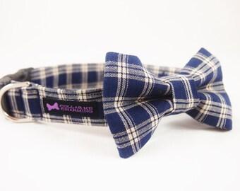 Dog Collar Bow Tie Set Rufus