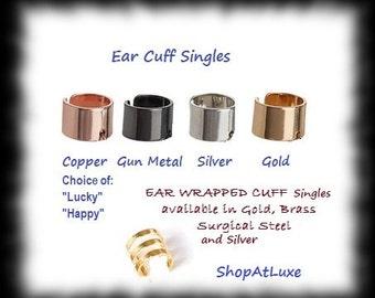 Ear Cuff Single - Choice Of Color