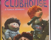 "90's Cabbage Patch Kids ""The Clubhouse, A Musical Adventure"" VHS Tape"