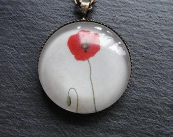 Necklace poppy