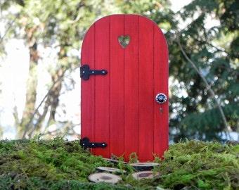 Handmade Fairy Door with tiny key fairy garden miniature accessory miniature gnome garden & Fairy door | Etsy pezcame.com