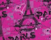 Paris print Pillow Bed, Pillow Bed, Girl Pillow Bed, Children's Pillow Bed, Pillow Mattress, Sleepover Bed