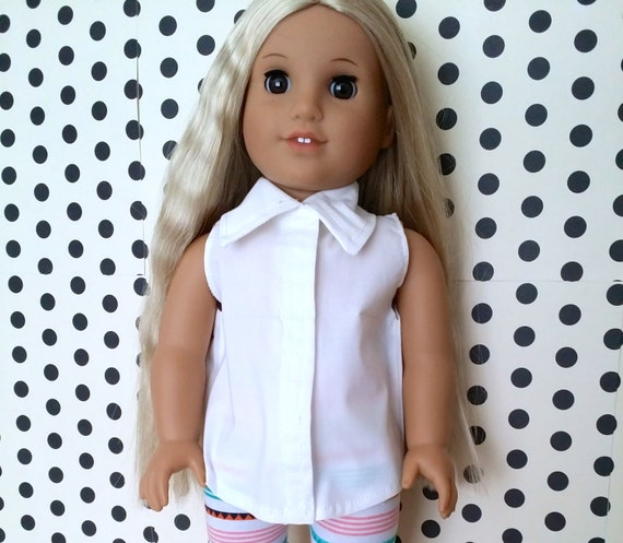 The NEW Loose Fitting Collared Top for American Girl, Our Generation, and My Life Dolls as well as other 18 inch dolls