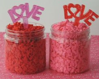 LOVE Cupcake Pics add the perfect message to your Valentine's Day treats.