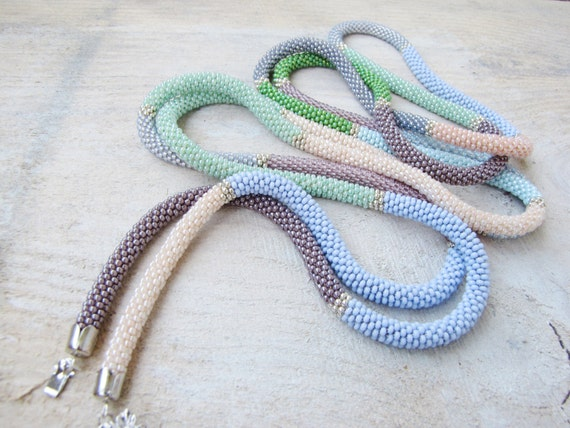 Crochet Rope Necklace