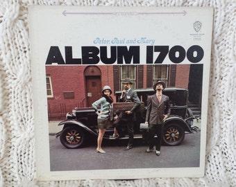 "Peter, Paul & Mary- ""Album 1700"" vinyl record (NT)"