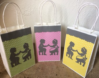 Nursery Rhyme Favor/Treat Bags (Set of 6+)