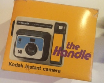 "Vintage Kodak ""The Handle"" Instant Camera"