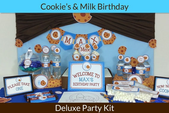 1st Birthday Ideas Cookie Monster First Birthday Party