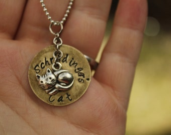 Schrodinger's Cat Necklace Big Bang Theory