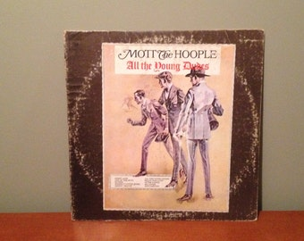 """Mott the Hoople """"All the Young Dudes"""" vinyl record"""