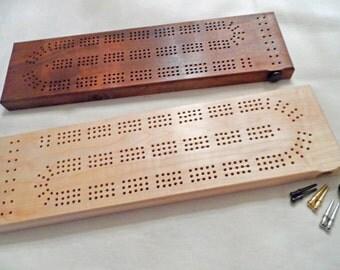 33. 3 Track Cribbage Board