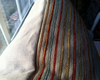 Velvet Stripe Pillow Cover