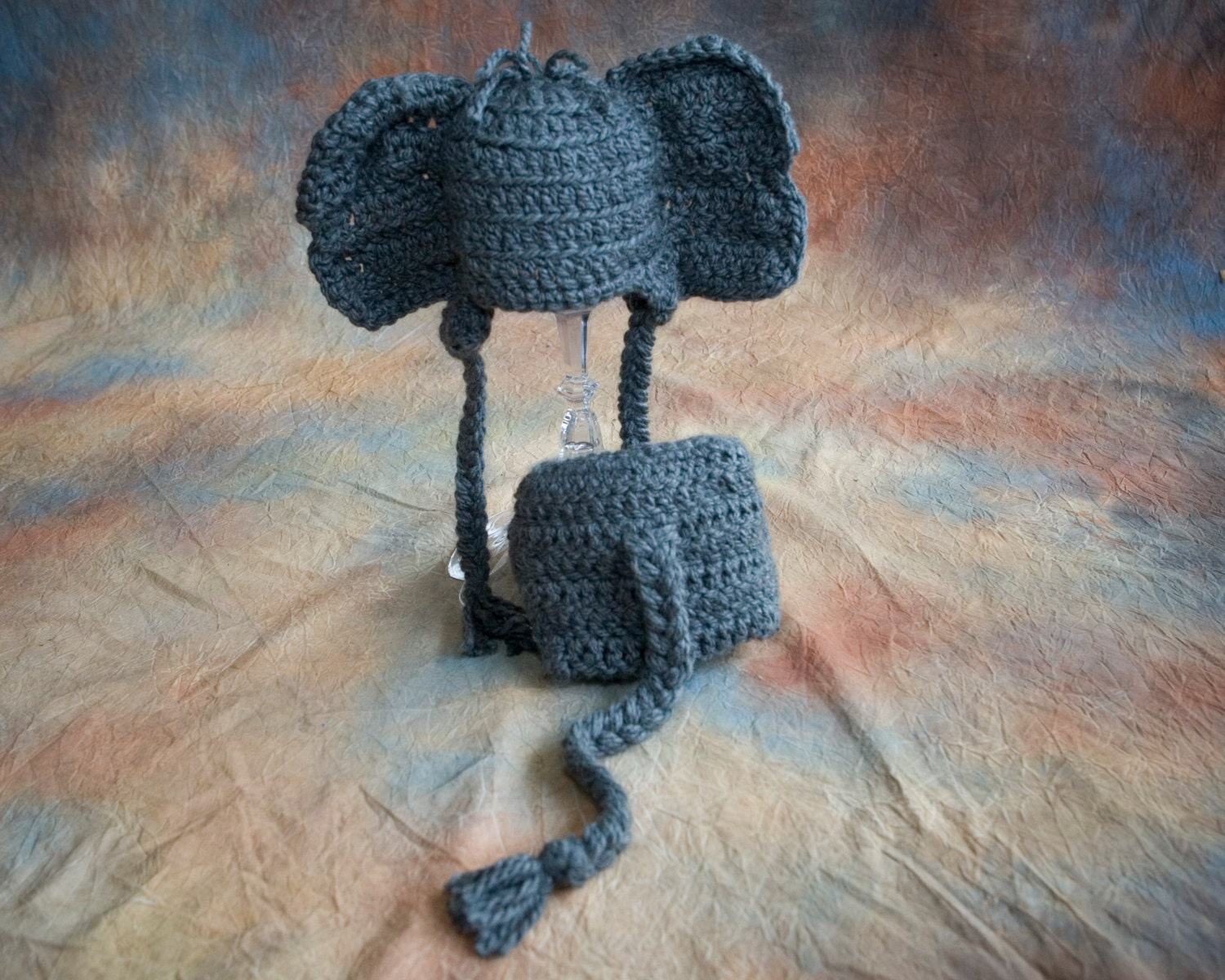Elephant baby hat and diaper cover crochet pattern toboggan zoom bankloansurffo Images
